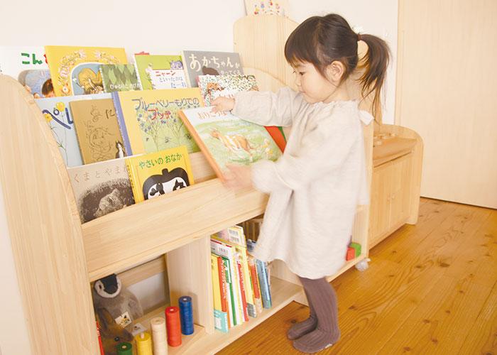 木遊舎 絵本棚 M800
