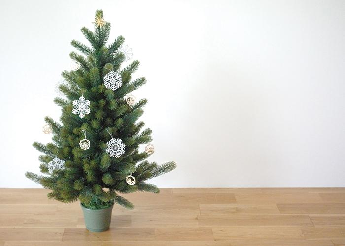 ドイツ製クリスマスツリー90PLASTIFLOR社