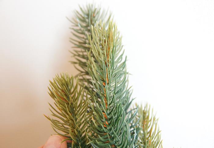 本物の木のような美しさ