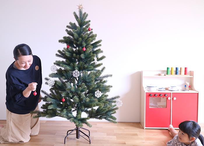 3姉妹ドイツ製クリスマスツリーPLASTIFLOR社
